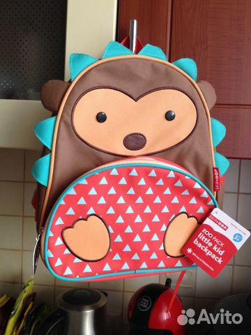 Skip Hop рюкзак детский ежик 3-7 лет новый 89273756045 купить 2