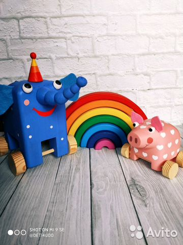 b27ed1b82a099 Деревяшки игрушки из мультика купить в Москве на Avito — Объявления ...