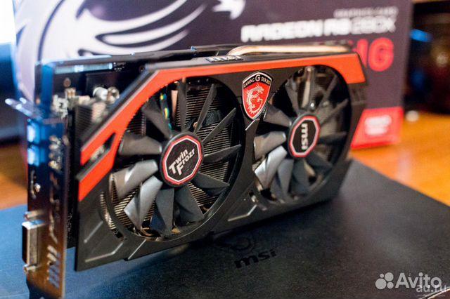 MSI AMD Radeon R9 280 gaming 3G Гарантия Trade In
