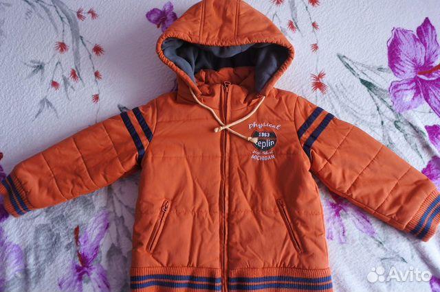 Куртка осенняя Zeplin р. 110-116 + Аксессуары  89616848492 купить 3