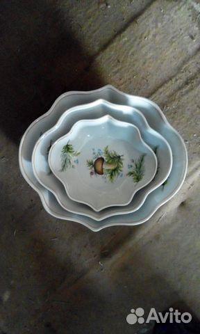 Ett set med skålar sallad