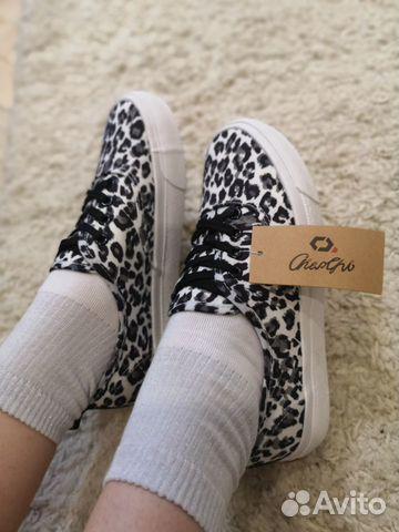 Леопардовые кроссовки, кеды тренд 2019 купить 6