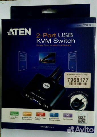 KVM switch aten CS22U
