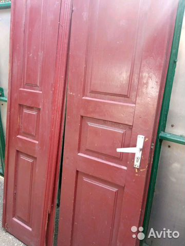 Дверь двухстворчатая купить 2