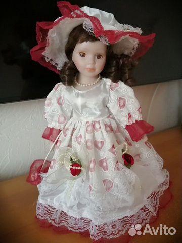 Кукла фарфоровая  89823077177 купить 1