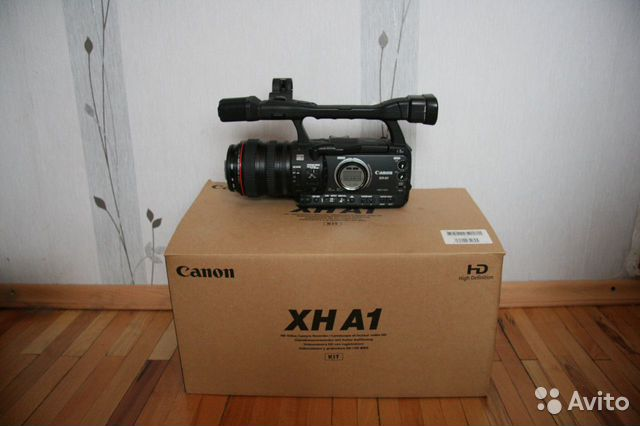 Камера Canon XH A1