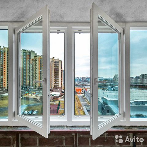 Окно пластиковое для балкона
