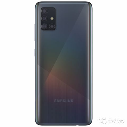 SAMSUNG Galaxy A51 4/64 Black с гарантией