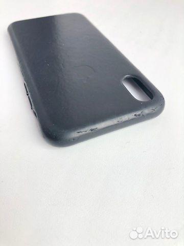 Кожаный чехол для iPhone X, Black. Оригинал 89226777659 купить 4