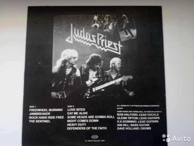 Judas Priest  89178353407 купить 2