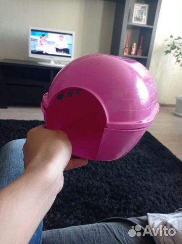Домик для морской свинки,розовый,новый  89143863820 купить 1