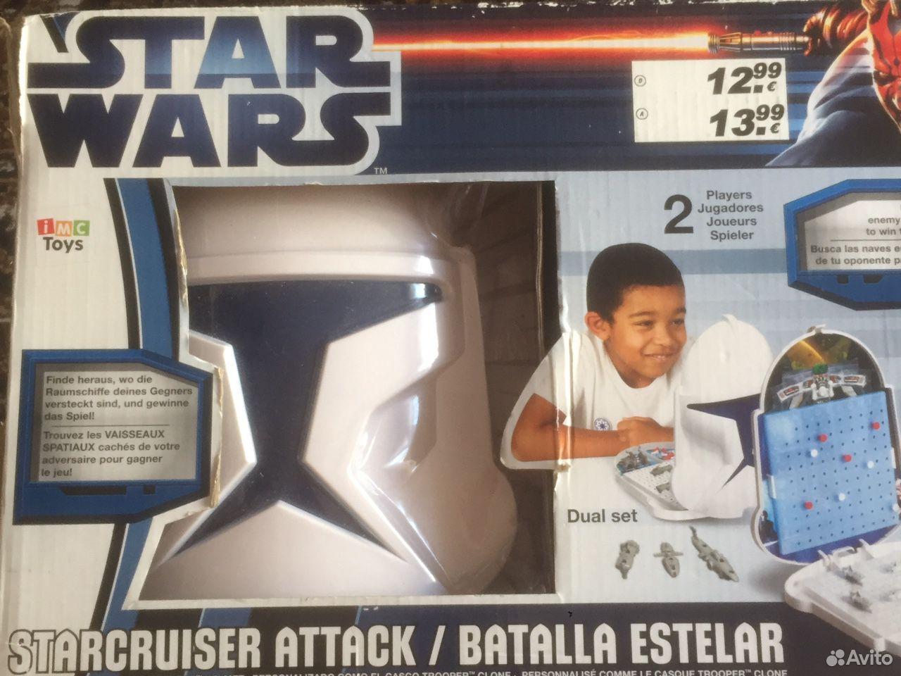 Игра настольная «Морской бой» Star Wars  89114658485 купить 1