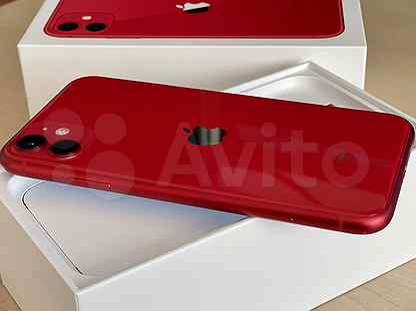 Продаю iPhone 11 64 Gb RED (MWN22ZA/A) 2 Dual SIM