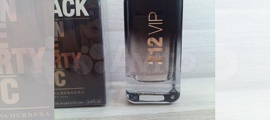 Carolina Herrera 212 Vip Black 100ml купить в санкт петербурге на