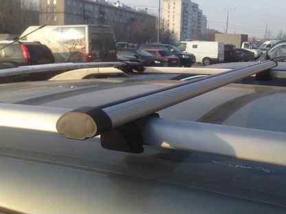 Багажник на рейлинги Skoda Yeti