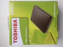 "Внешний жесткий диск Toshiba 2.5"" 500Gb"