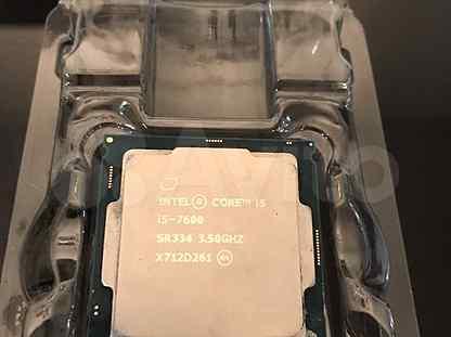 Процессор intel core i5 7600 3,5 G Hz