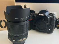 Объектив Nikon DX AF-S nikor 18-105mm 3.5-5.6 ED
