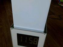 Часы светильник термометр