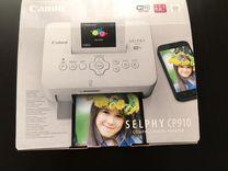 Компактный фотопринтер Canon Selphy CP910 White