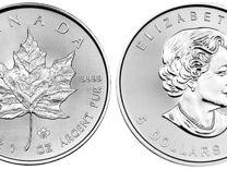 5 долларов Кленовый Лист