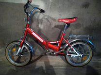 Велосипед 2х колесный складной