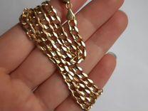 Цепь золотая крупная золото