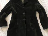 Пальто велюр — Одежда, обувь, аксессуары в Краснодаре