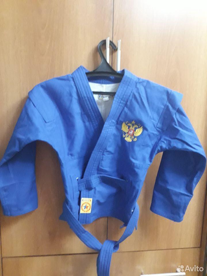 Форма для самбо синего цвета  89997709315 купить 3