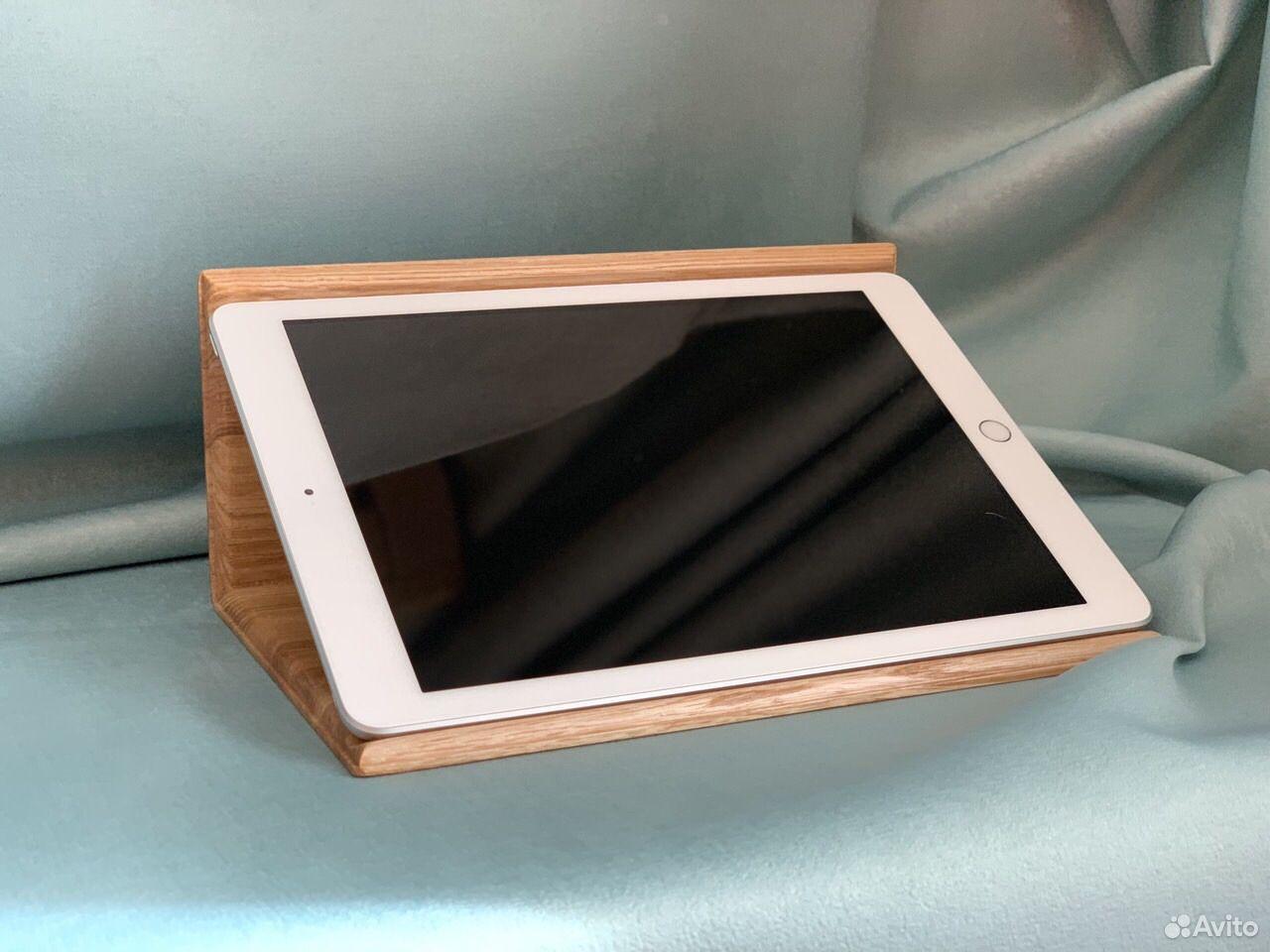 Подставка для планшета. Из дерева Ясень  89061500826 купить 1