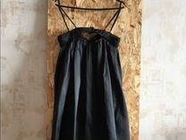 Коктейльное шелковое платье Machka