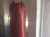 Боксерские перчатки и мешок