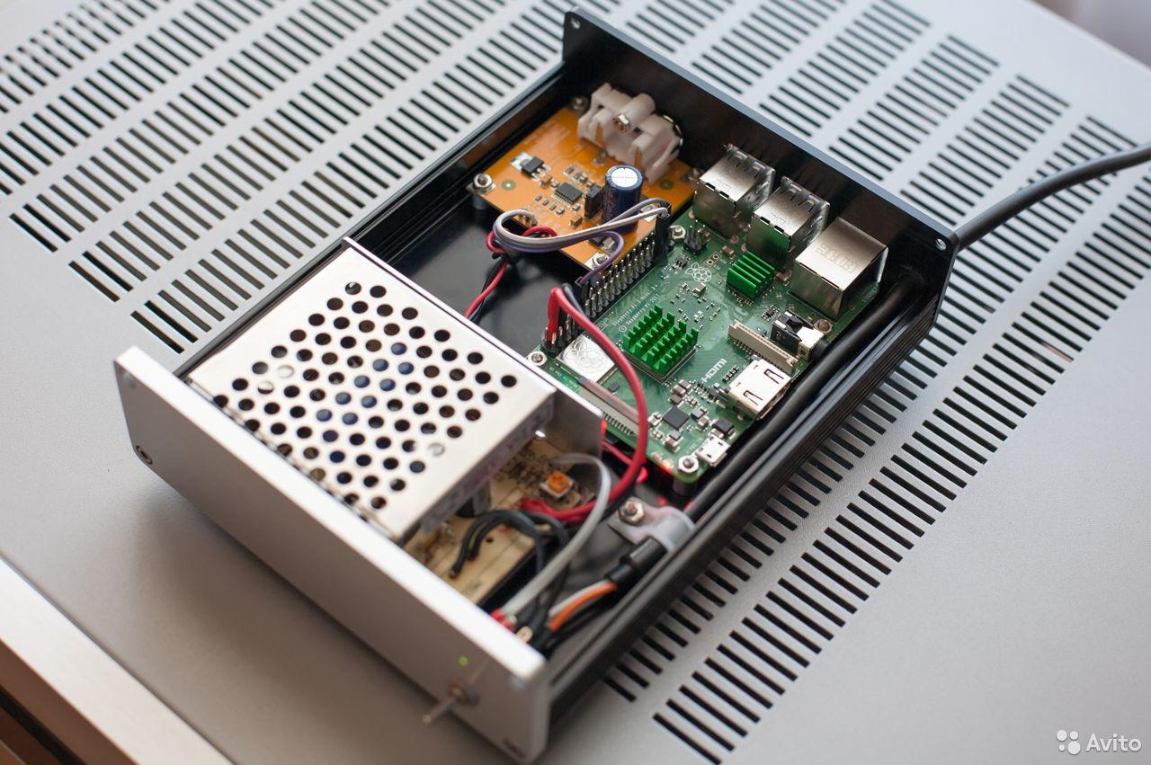 Сетевой аудиоплеер Volumio RPi 3B+  89381232122 купить 3