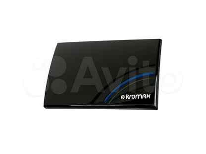 Антенна тв комнатная kromax TV flat-05