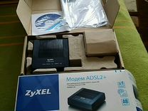 Модем adsl2+ zyxel annex A/B