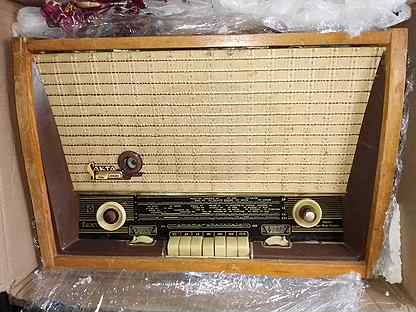 Ламповые приемники и радиолы, патифон