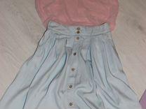 Пакет одежды. Летняя. Платье. Befree. Юбка. Топ