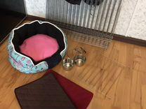 Вольер 65 см (6 секций, 2 миски, 2 коврика, подушк