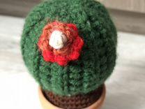 Кактус - вязаный сувенир
