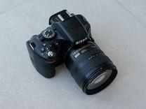 Фотоаппарат Nikon D5100+18-70mm