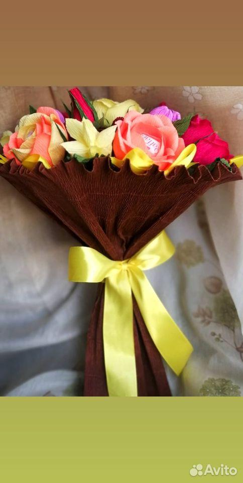 Осенний букет из конфет  89698099339 купить 2