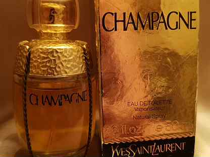 Духи винтаж Champagne Yves Saint laurent