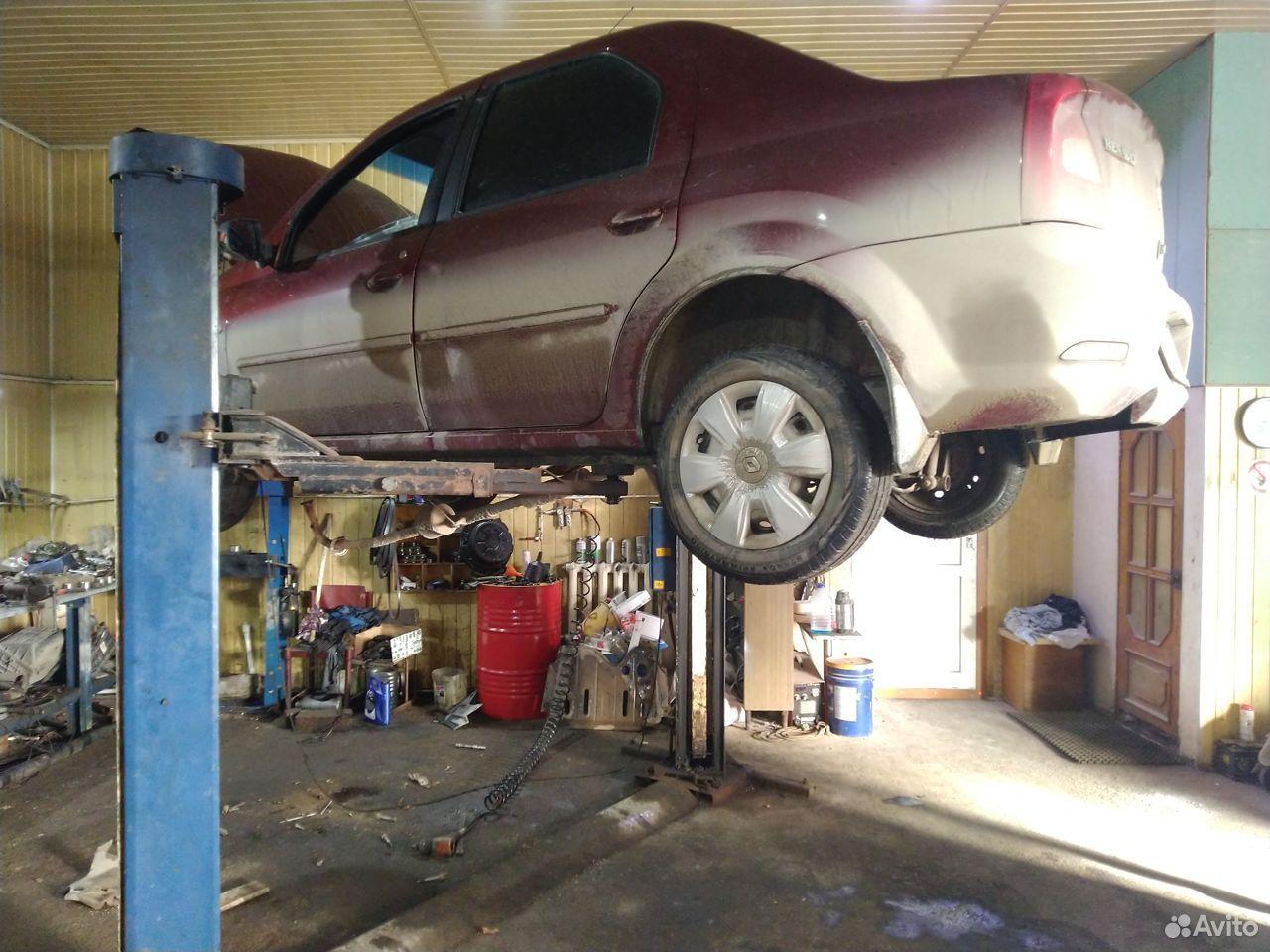 Подъемник автомобилный