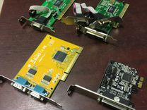 COM RS232 LPT контроллеры в PCI и PCI-E