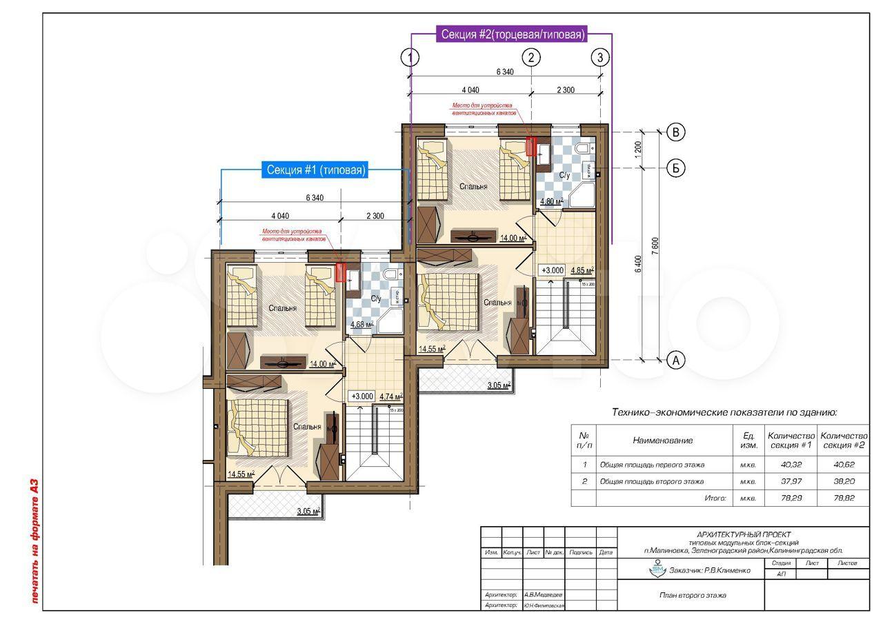 Таунхаус 82 м² на участке 1.5 сот.  89814708100 купить 5