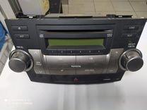 Магнитола Toyota Highlander 2009-2011