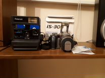 Фотоаппарат Olympus IS-300 и Polaroid-636