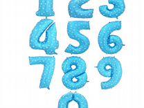Фольгированные цифры 32'(81см.)