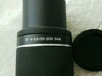 Объектив sony DT 55 - 200 mm