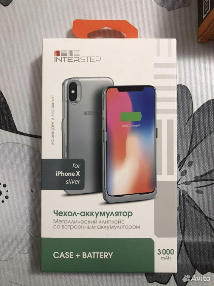 Interstep Чехол аккумулятор iPhone x Новый
